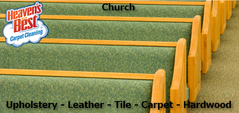 We Clean Cloth and Leather Church Pews